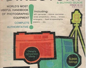 Summer Sale Popular Photography Directory & Buying Guide 1962 Magazine