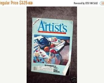 Summer Sale The Artist's Magazine December 1995