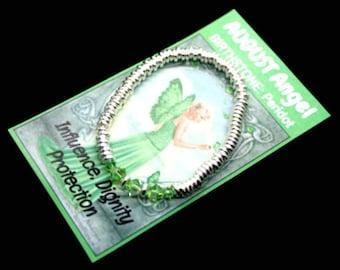 August Swarovski Birthstone Bracelet