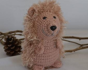 hedgehog crochet 100% handmade