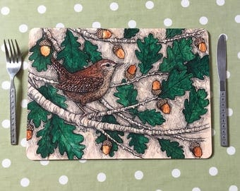 Wren Placemats / Tablemats