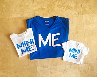 Me and Mini Me Shirt / Daddy and Me Shirt / Daddy and Me Matching Shirts