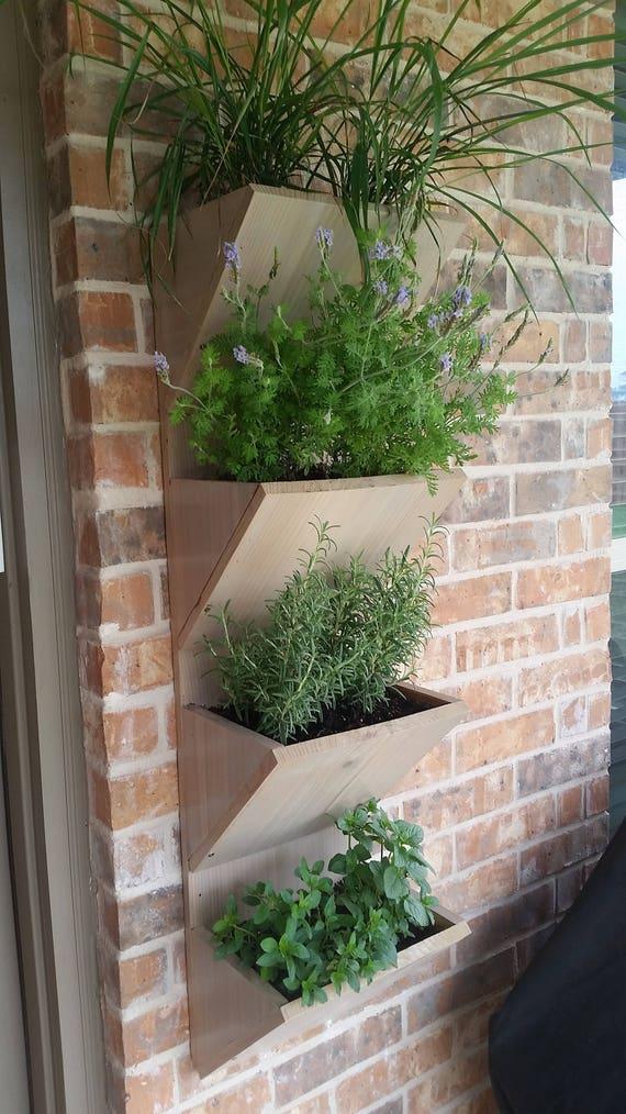 Herb Garden Planter Boxes Patio