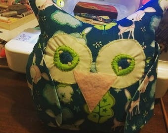 Forest Owl Pillow