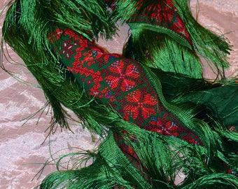 Handmade Embroidered Piano Shawl Holy land