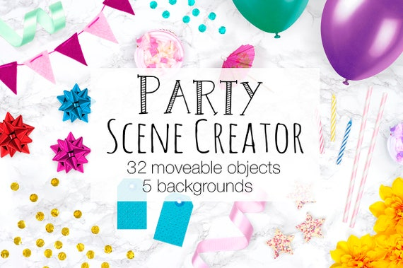 Party scene creator moveable mockup card mockup with party scene creator moveable mockup card mockup with moveable objects birthday invitation mock up creator balloons confetti and more stopboris Choice Image
