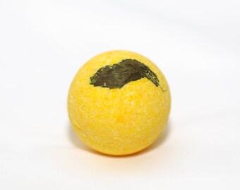 Minty Lemon Bath Bomb