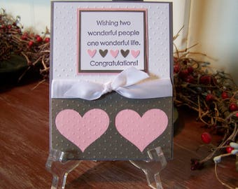 Engagement/wedding Greeting Card