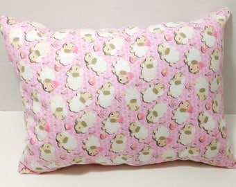 Counting Sheep Throw Pillow  - Decorative Pillow; Gift for her; girls throw pillow; Christmas; birthday; girls bedroom