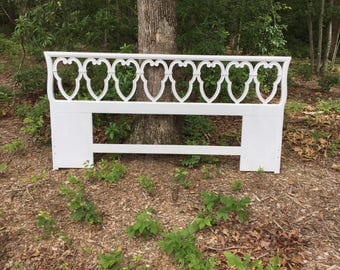 Upcycled King Sized Headboard