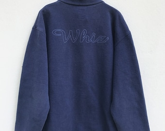 Whiz Limited Sweater Vintage Whiz Limited Japanese Brand Skate Made in Japan  Hip hop Streetwear Sweater Jacket sz L