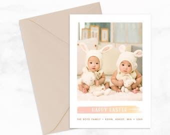 "Easter Card or Postcard by Arbor Grace Collections, 5"" x 7"" PRINTABLE Mailer"