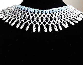 Frosty Glimmer Necklace