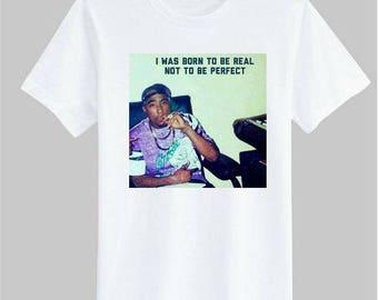 Tupac Amaru Shakur 2Pac PAC Makaveli Digital Underground Black Panther Party The 7 Day Theory White Unisex T-Shirt