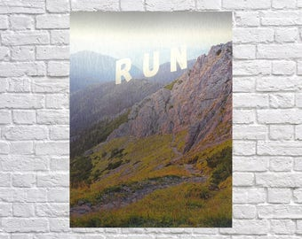 Metal Wall Art Aluminium Print Mountains Landscape Nature Photography minimalistic minimal finest quality