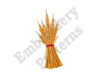 Wheat Stalk - Machine Embroidery Design