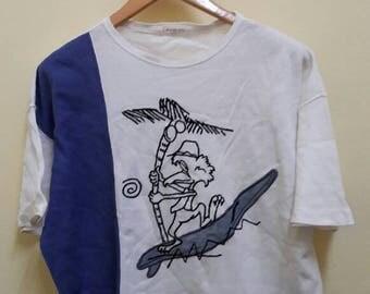 vintage LANCEL PARIS t shirt made in JAPAN