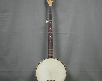 Vintage 5 String Open Back Banjo
