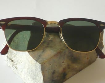 Vintage Ray Ban Clubmaster of W 0366 by Bausch & Lomb