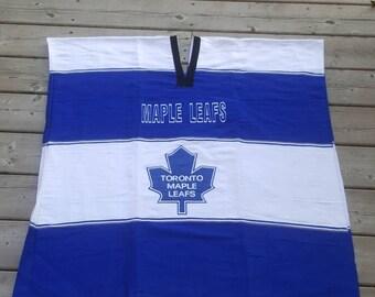 Toronto Maple Leafs Hockey Poncho NHL Go Leafs Go