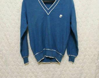 VINTAGE Pierre Cardin Long Sleeve Sweater M Size