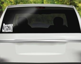 Oregon State Decal - Oregon Car Decal -  Pacific Northwest Sticker - OR State - PNW Sticker - Bumper sticker - Vinyl Decal - Car Sticker