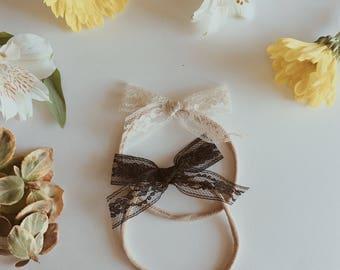 Bow | Vintage Lace