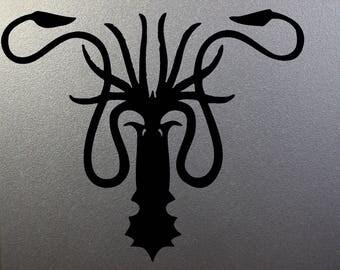 Game of Thrones Vinyl Decal House Greyjoy