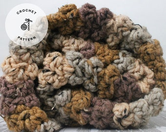 Crochet Pattern-Chunky Blanket Pattern--Hospitality Lapghan- Instant Download