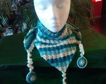 Scarf 100% alpaca yarn, 100% handmade