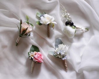 Custom made Boutonniere, Corsage , Buttonhole