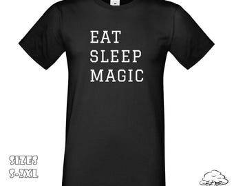 Eat Sleep Magic T-Shirt | Harry Potter Fans, Magic T-Shirt, Eat Sleep Magic