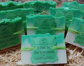 Lime In The Coconut Handmade Soap 5oz.