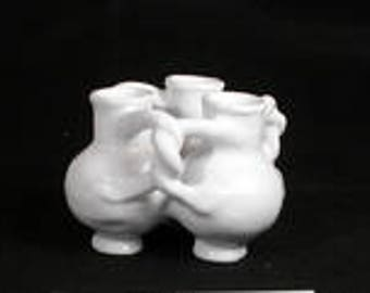 Fuddling Cup Three Interwoven Cups Puzzle