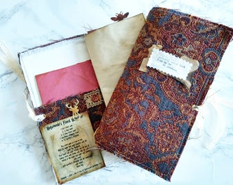 Harry Potter-Inspired Softcover Travelers Junk Journal