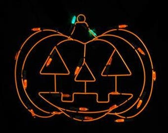 """12"""" Battery Operated LED Lighted Pumpkin Halloween Window Silhouette Decoration - ITEM# 30883056"""