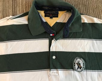 Vintage 90s Tommy Hilfiger US Open Polo