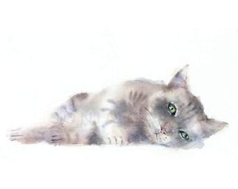 CAT lithograph