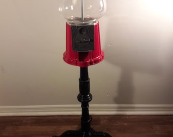 1985 carousel gumball machine with stand