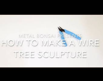 Wire tree tutorial video - step by step instructions on how to make a deciduous bonsai