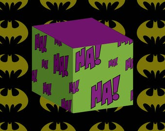 Printable Joker HaHa Party Box