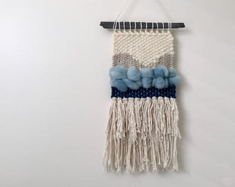 Wall Weaving #14 | Woven Wall Hanging | Wool Weaving | Loom Hanging