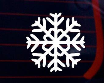 Snow Decal, Snowflake Decal, Christmas Decal, Snowflake Decals, Christmas Decor, Snowflake Sticker, Christmas Decoration, Car Window Sticker