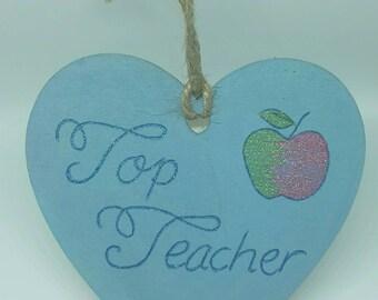 Best teacher, gifts for teacher, teacher gifts, hearts, leaving school gifts, teacher, teacher plaques,