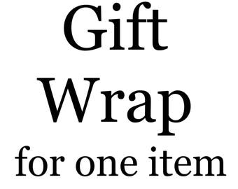 Gift Wrap for one item