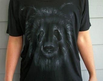 Panda Bear, Ladies Flowy T