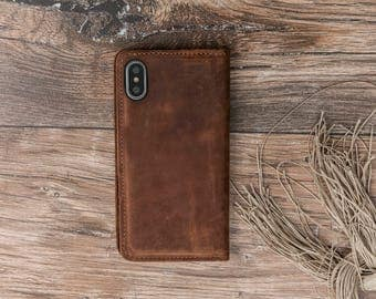 iPhone X Leather Wallet Case, iPhone X Case, iPhone X Wallet, iPhone X Case, iPhone X Wallet Case, Leather iPhone X Case #PAKHET PLUS