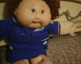 1983 Sailor Brunette Cabbage Patch One Tooth