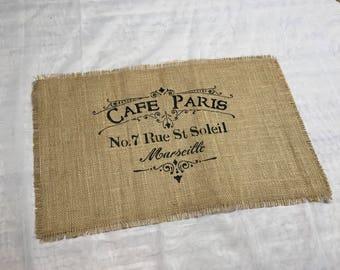Cafe Paris Placemat Set