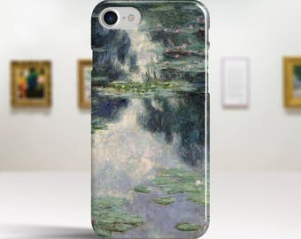 "Claude Monet, ""Pond with Water Lilies"". iPhone 8 Case Art iPhone 7 Case iPhone 6 Plus Case and more. iPhone 8 TOUGH cases. Art iphone cases."
